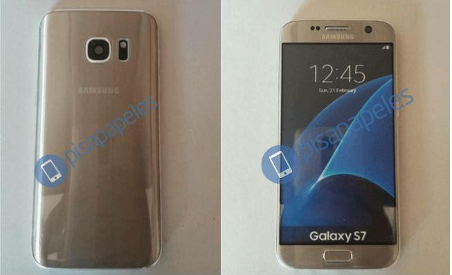 Samsung Galaxy S7 Leaked Picture Gold