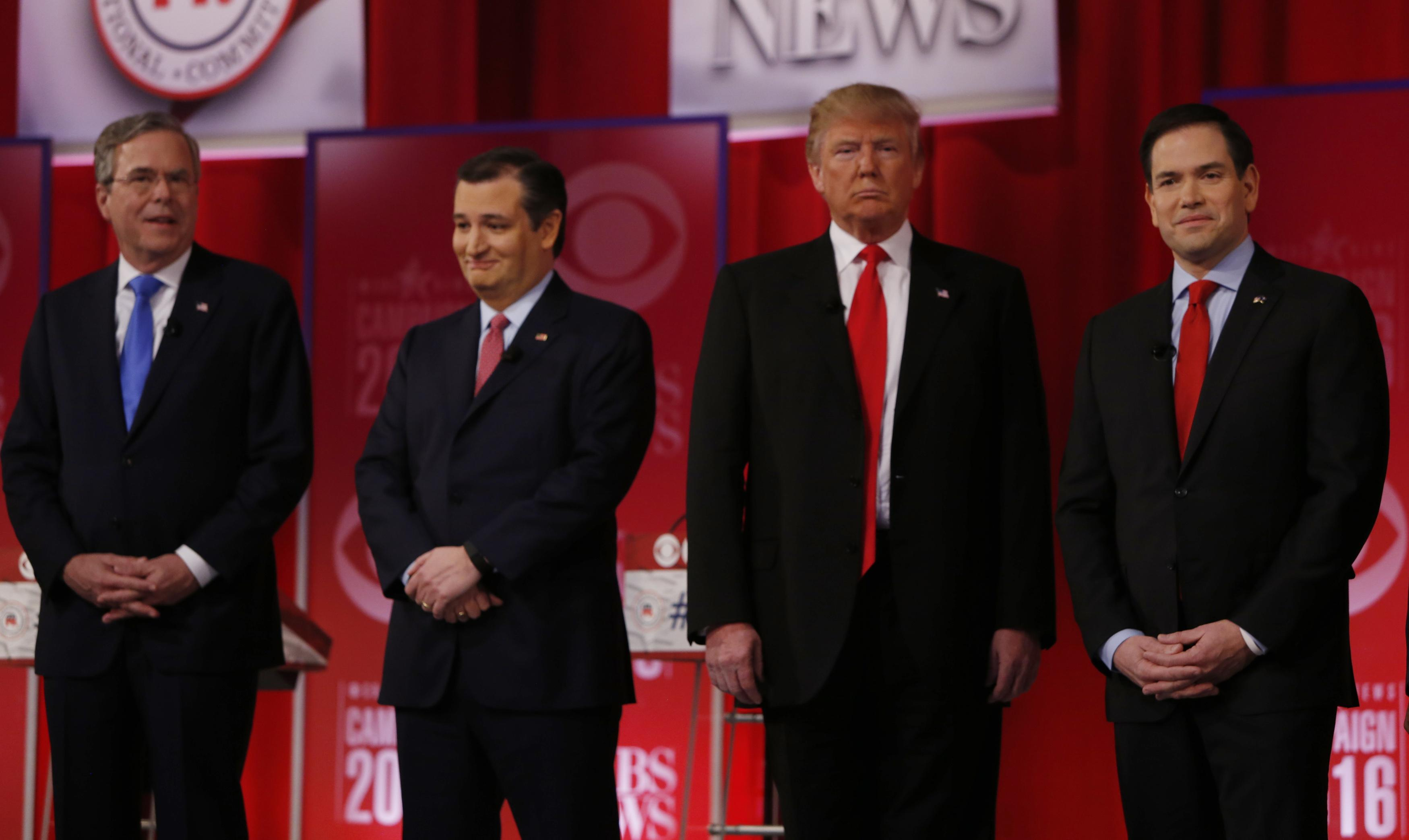 CBS Republican Debate Highlights 2016: Best Video Clips ...