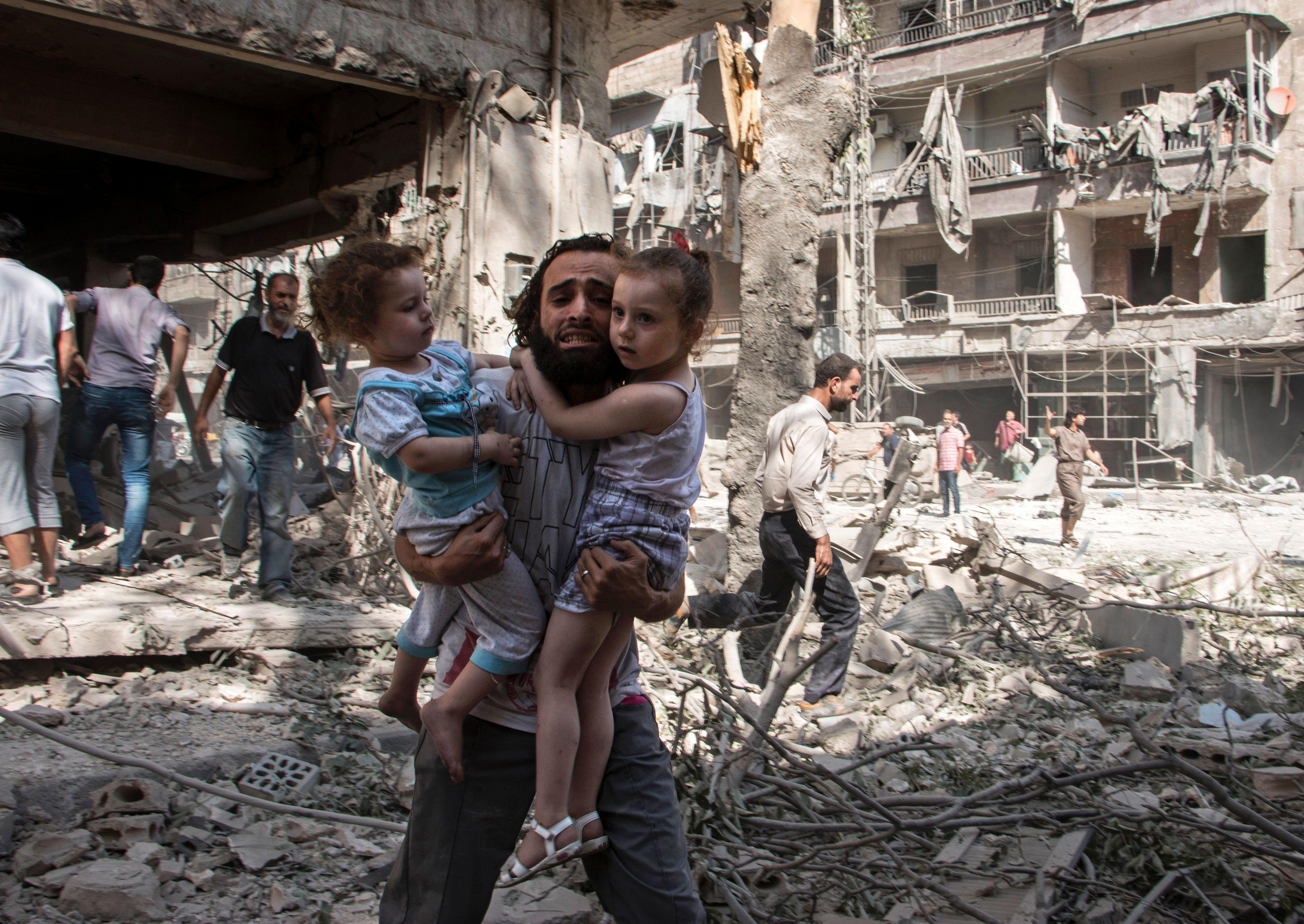 Image result for aleppo war