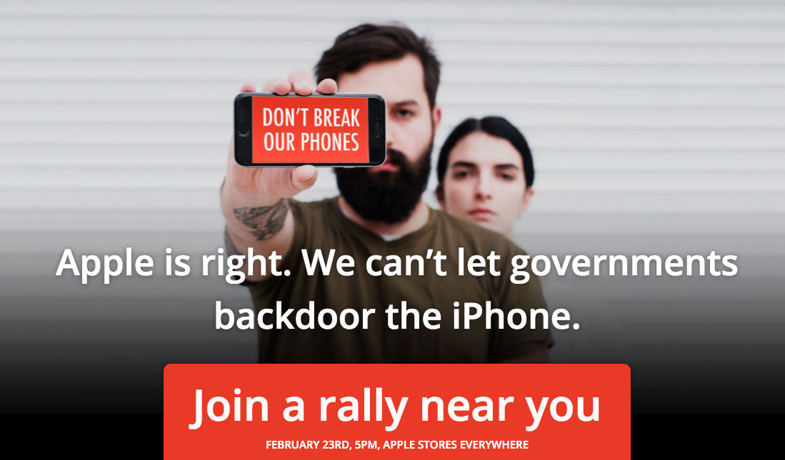 apple protest