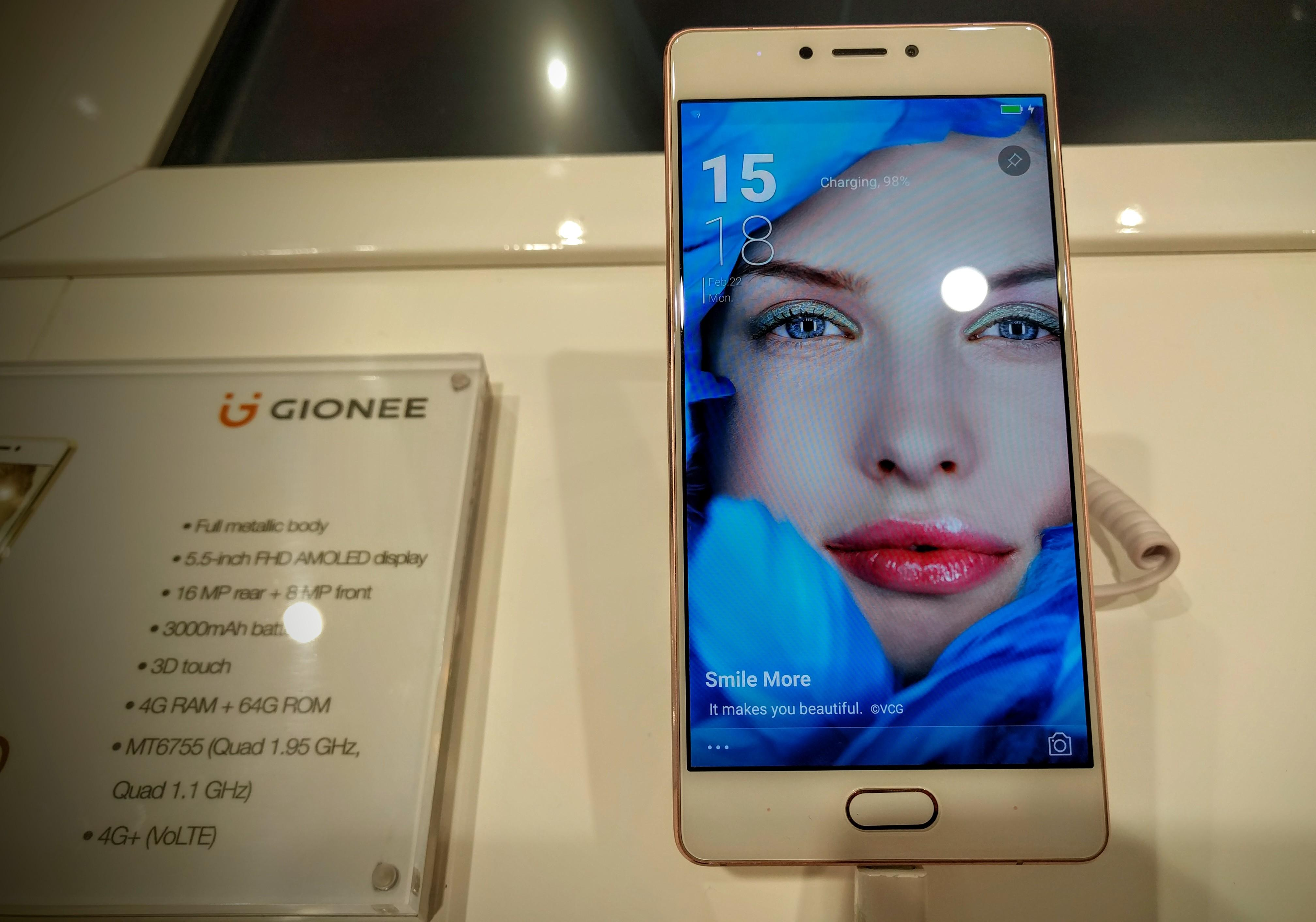 Gionee S8 Hand-On