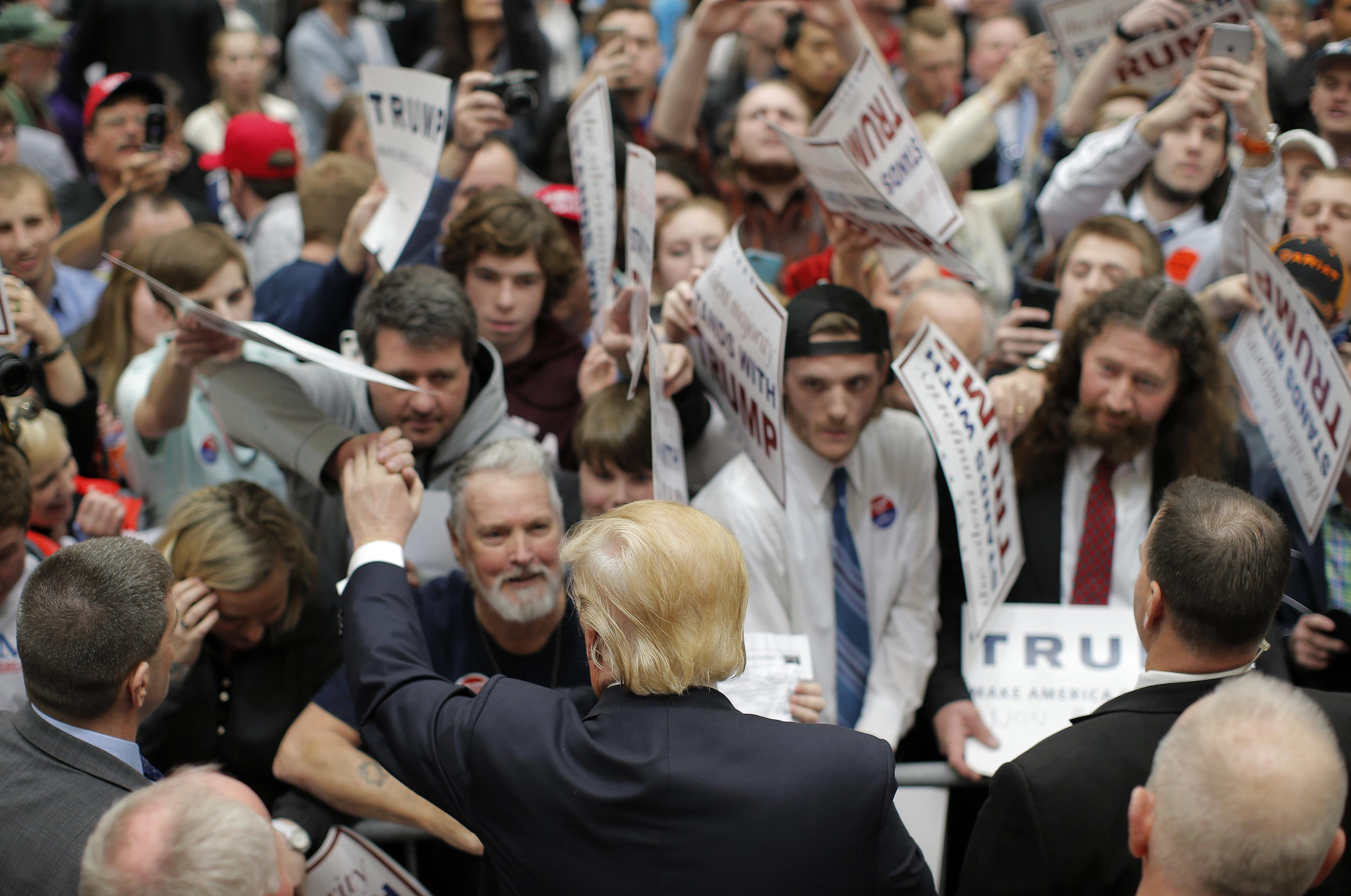 donald trump rally virginia