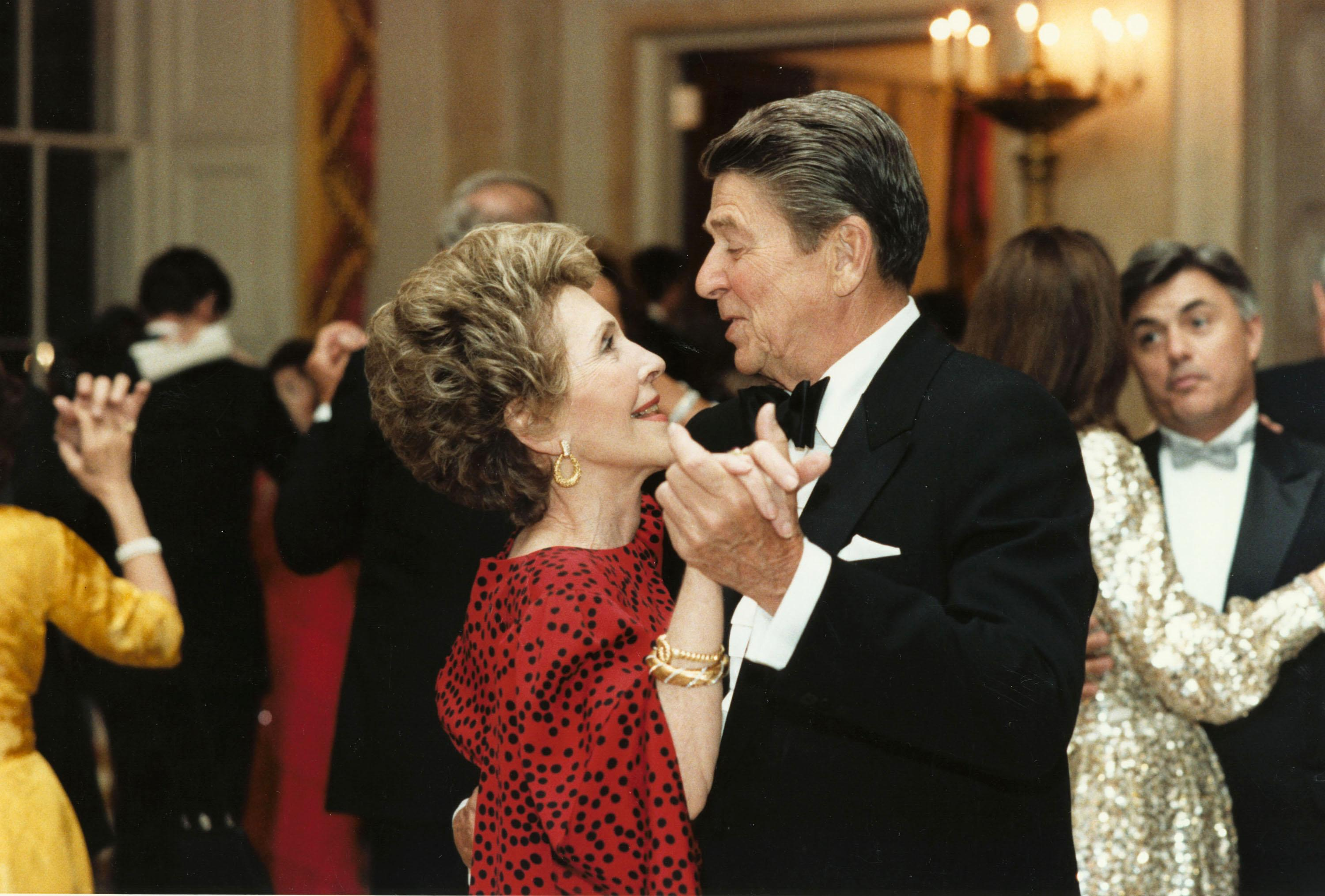 reagan dancing
