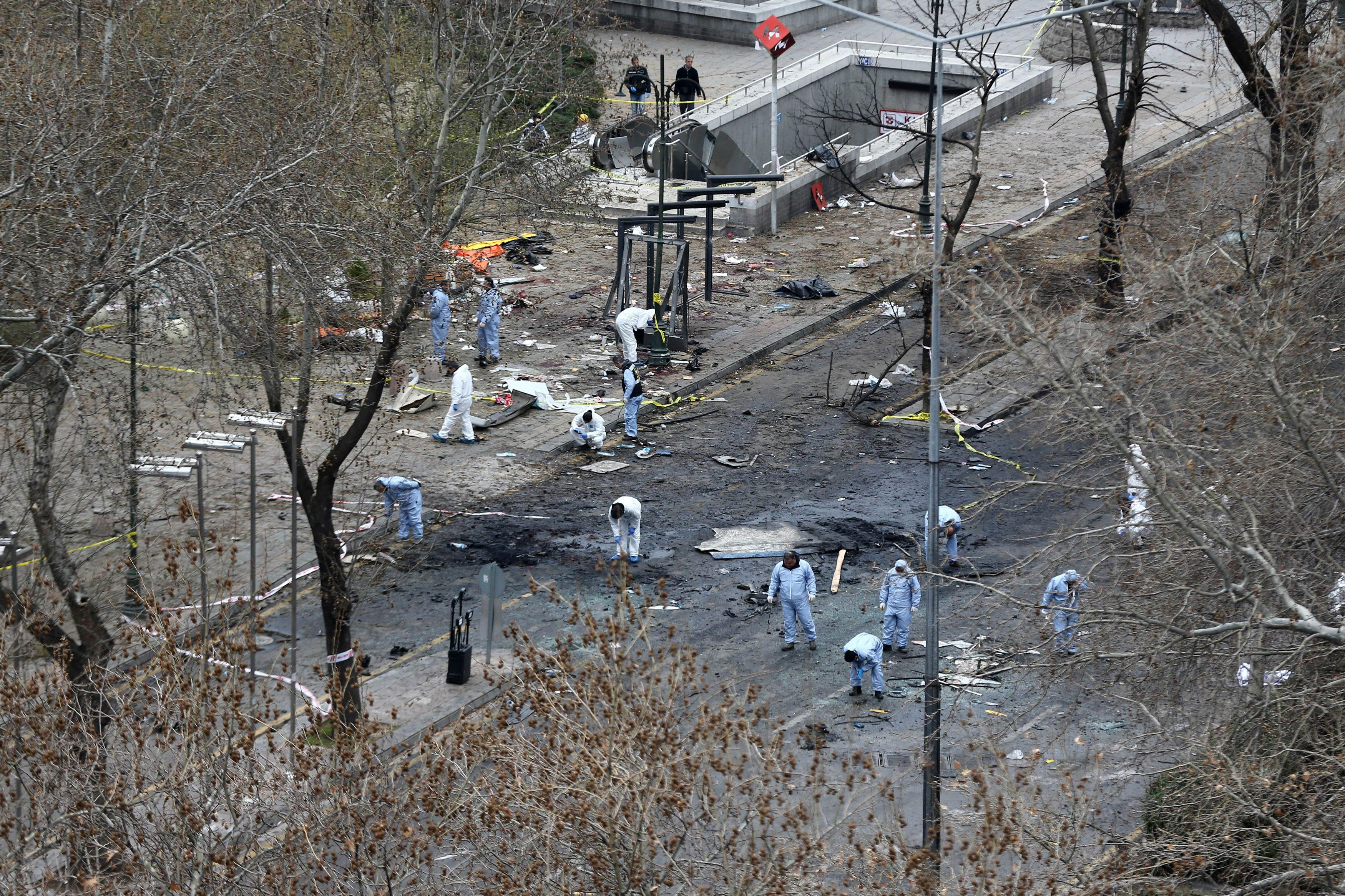Ankara bombing PKK fighter identified, death toll