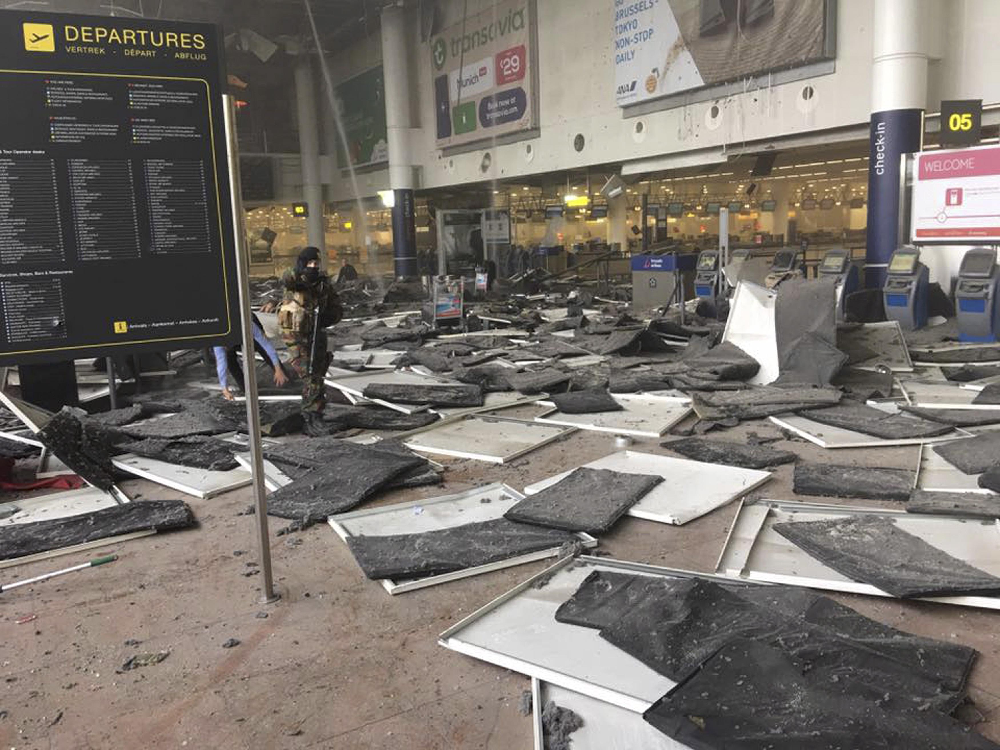 Brussels Attack Airport