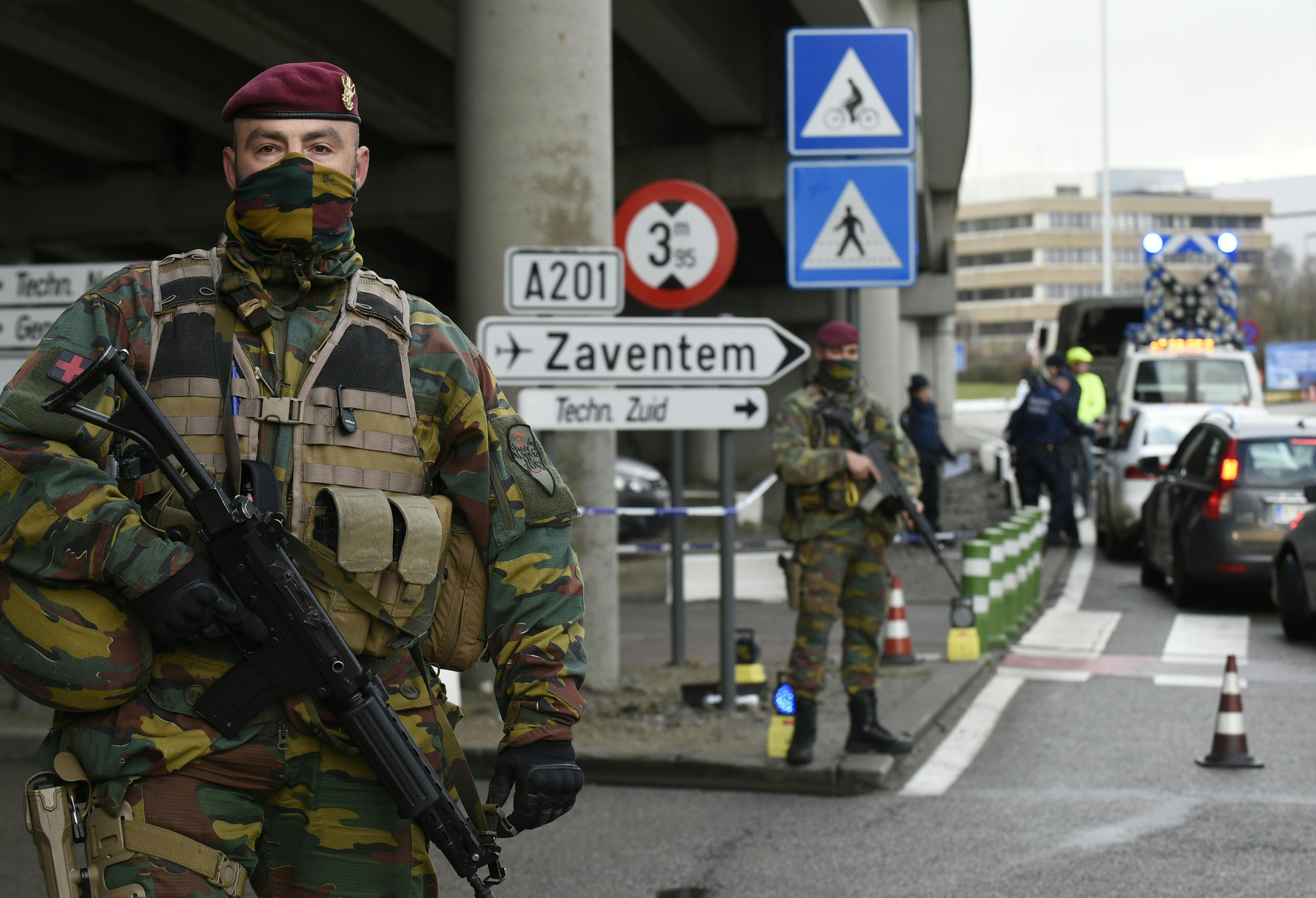 Brussels security