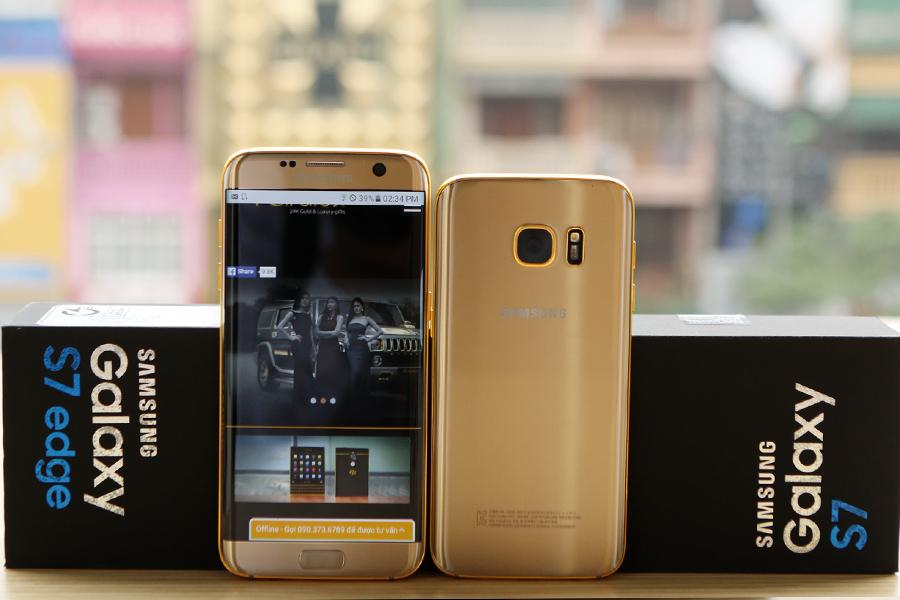 Galaxy S7 Pure Gold 2