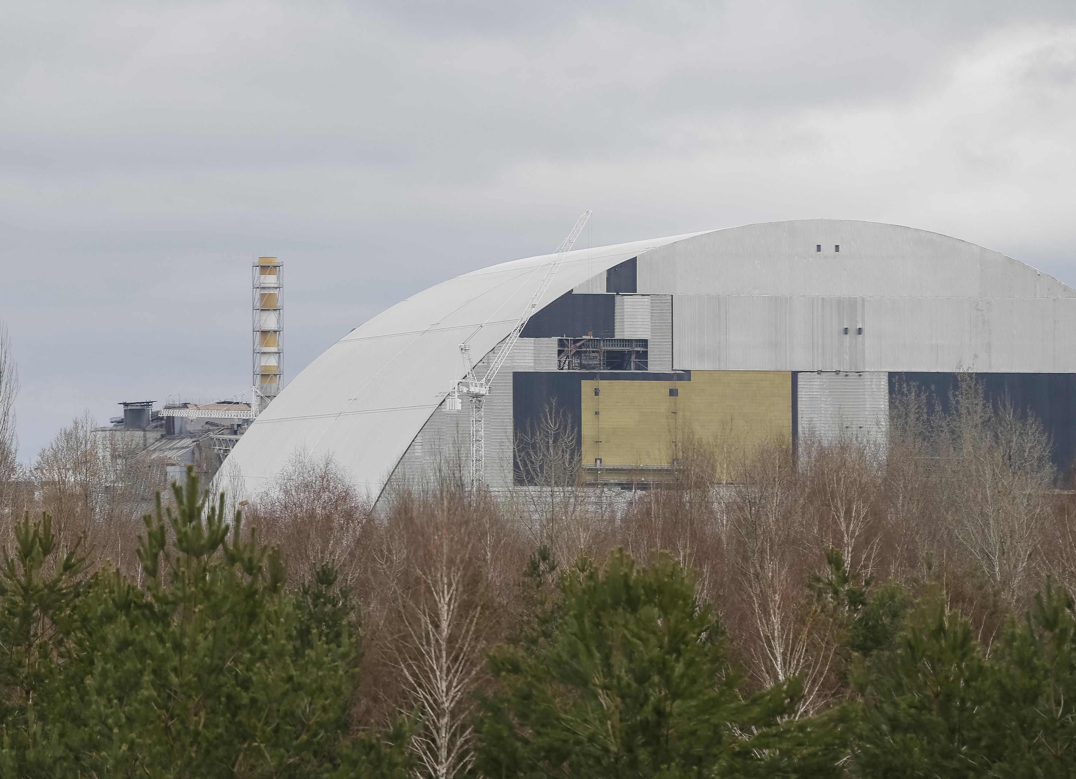 Chernobyl 30 Years On: Work On Giant Confinement Structure