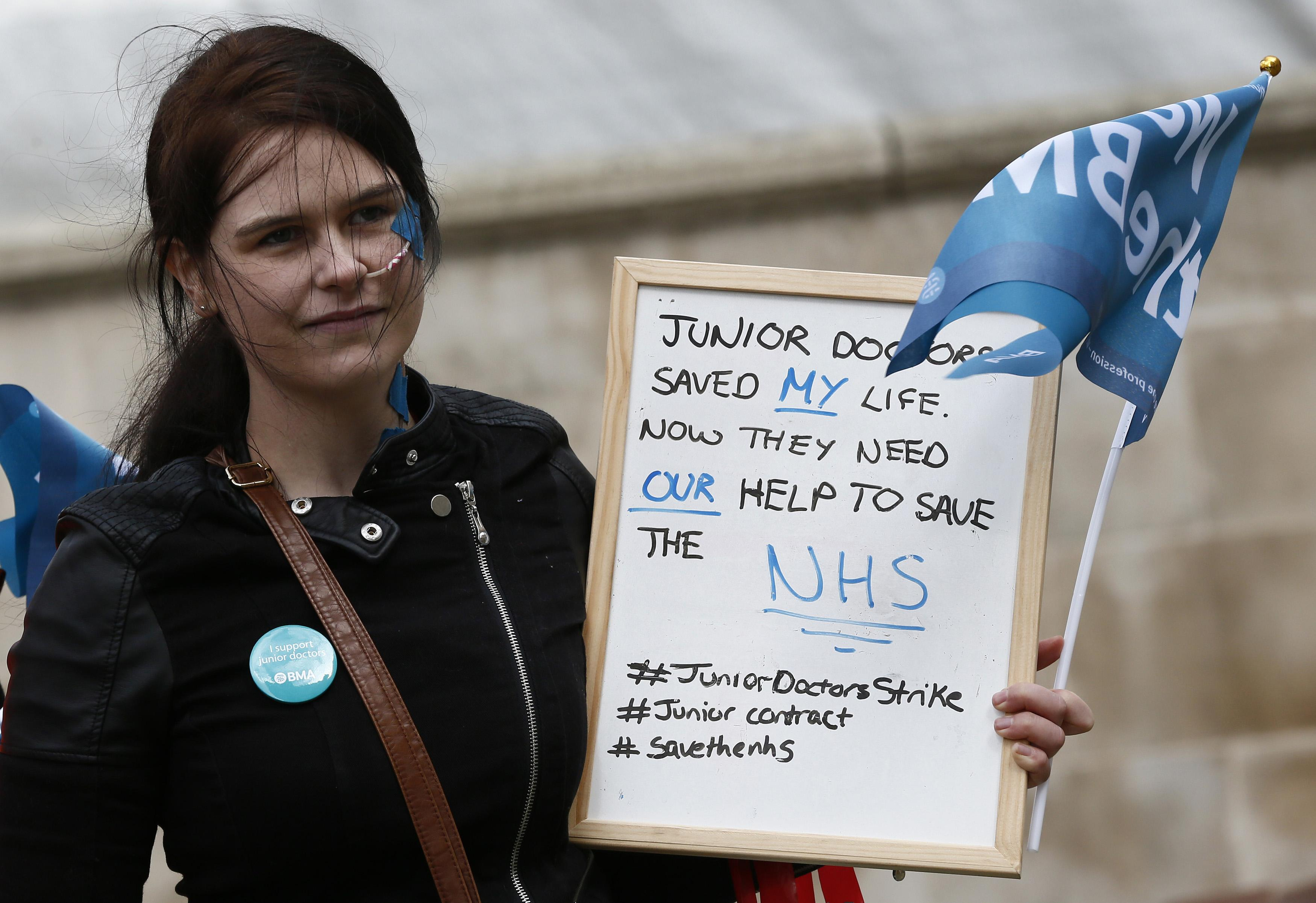 England Junior Doctors Strike: Hospitals Brace For First Day Of All