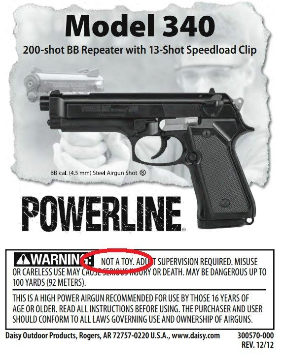 Powerline Model 340 Baltimore Shooting