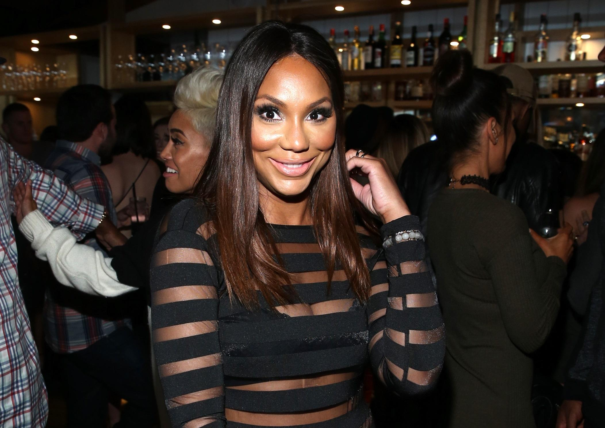 Tamar Braxton The Real drama update