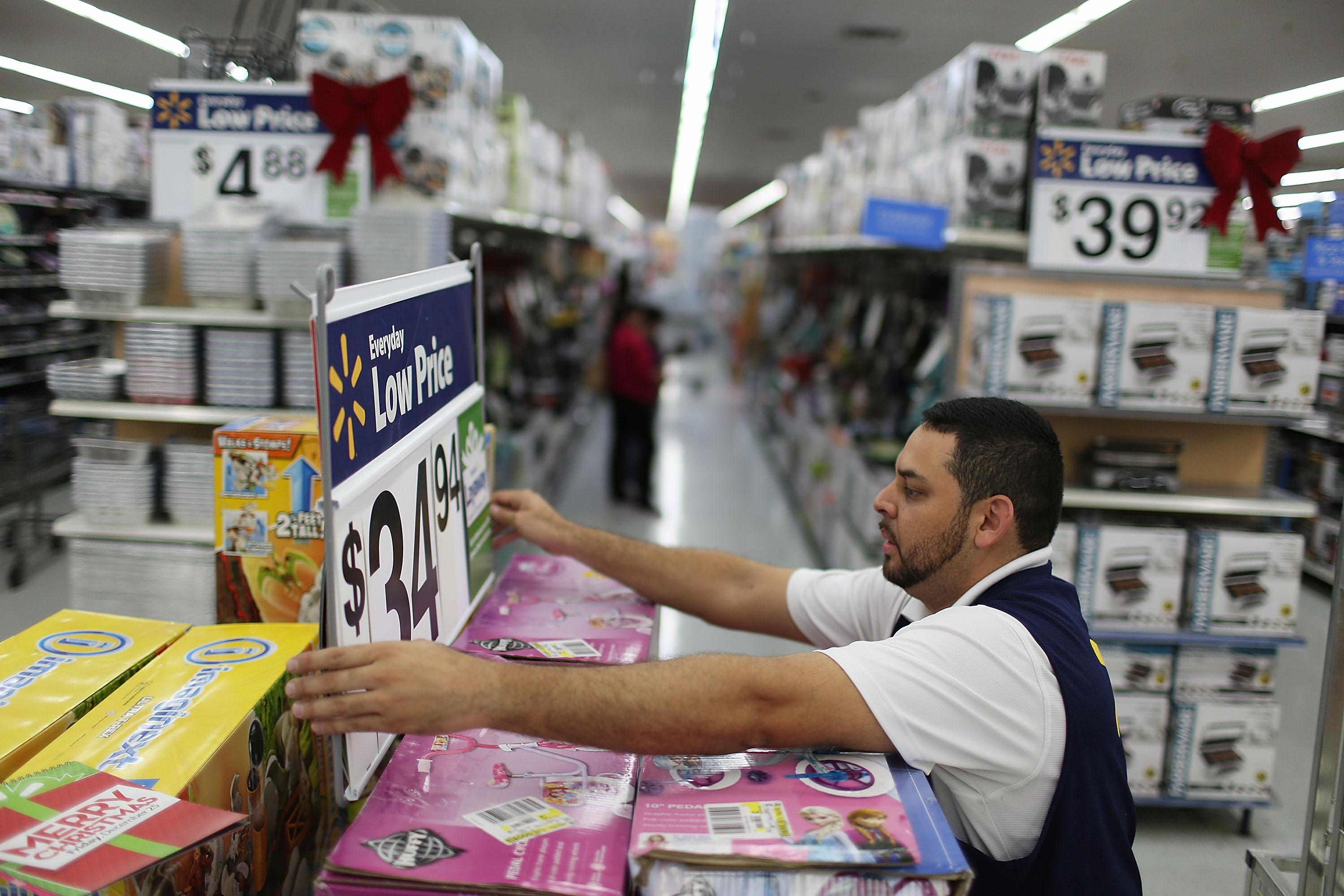 Wal Mart layoffs office accounting