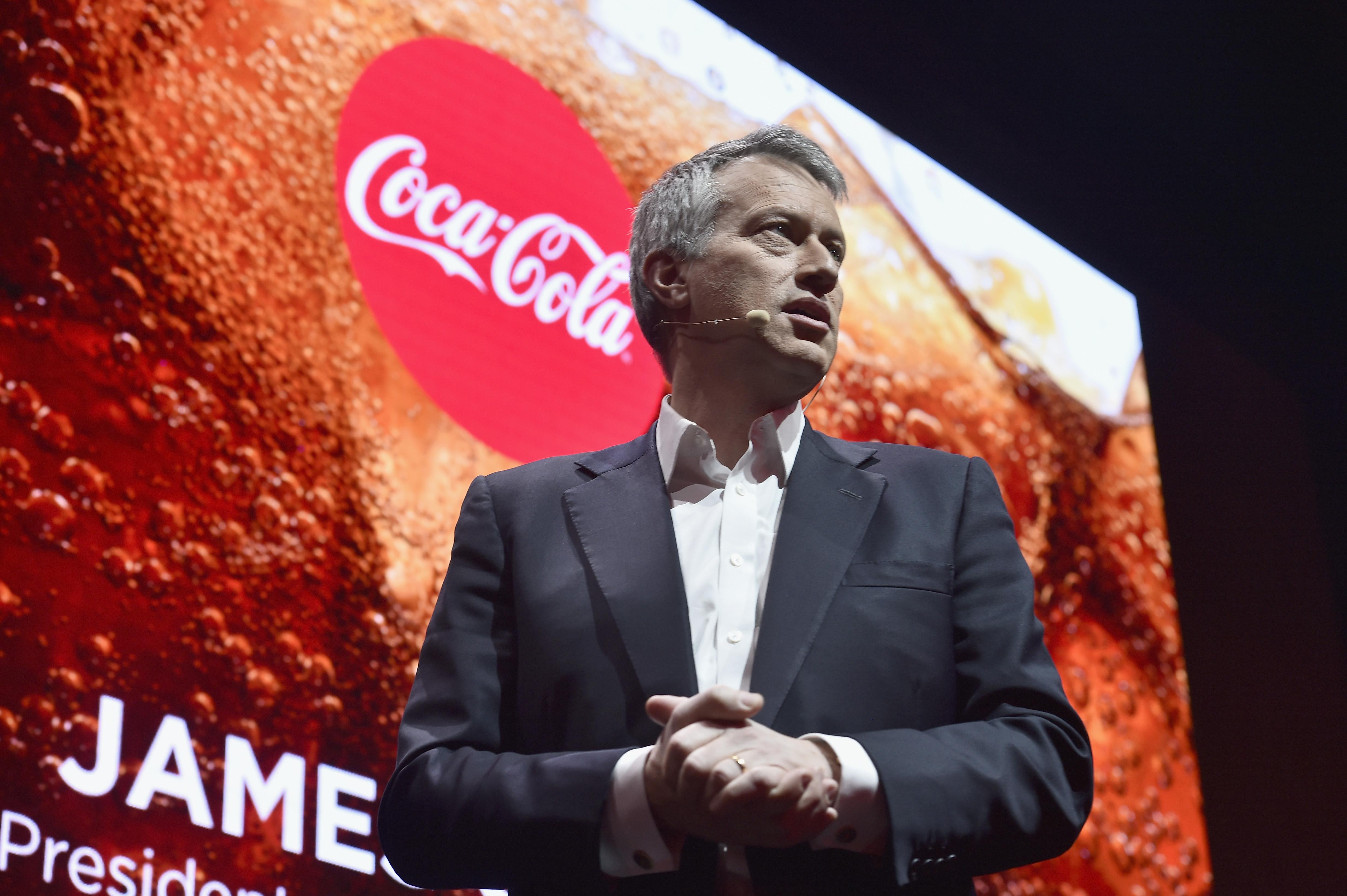 Coca-Cola CEO James Quincey has spoken out against a possible Brexit.