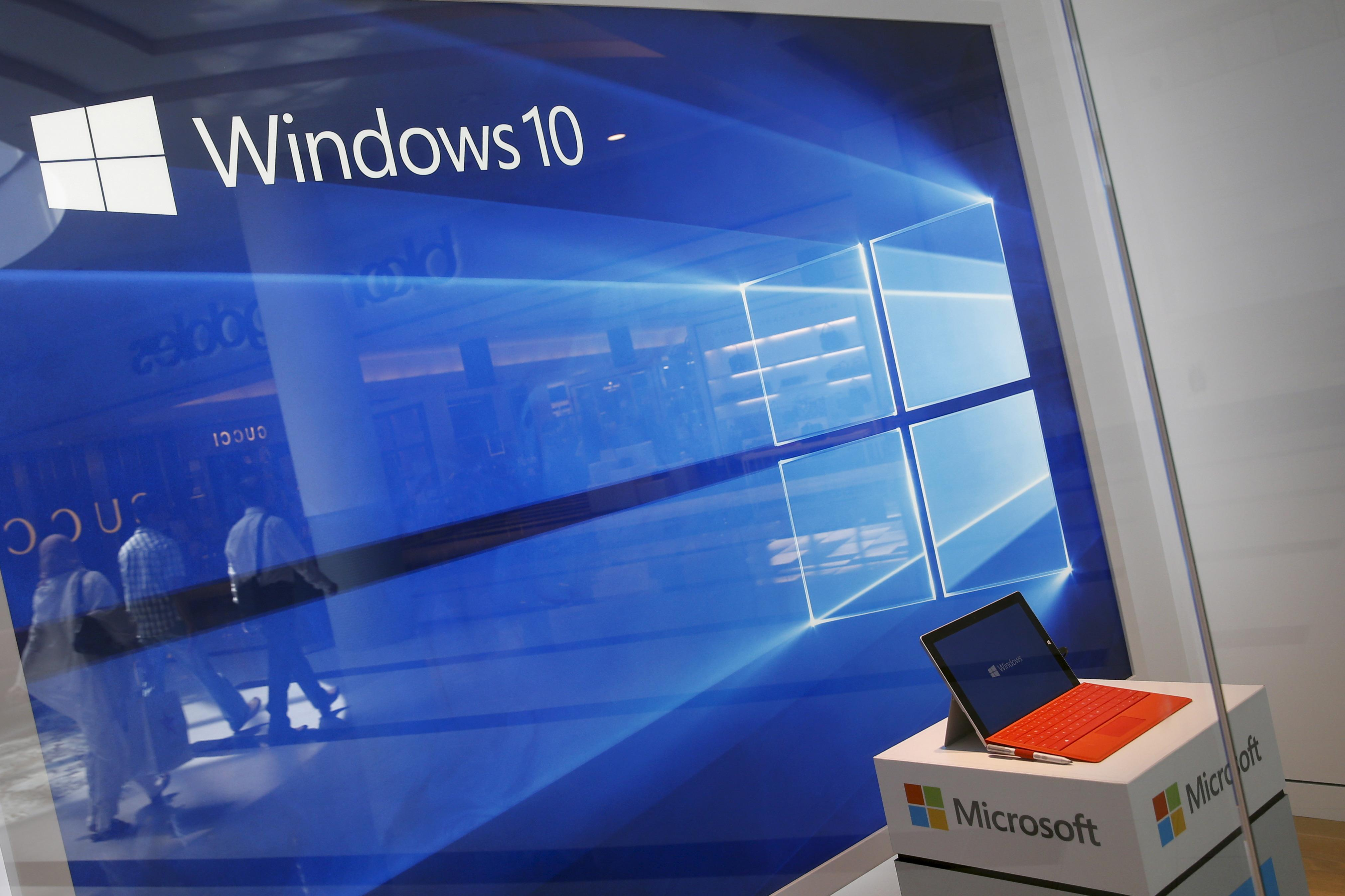 Payout for Windows 10 update