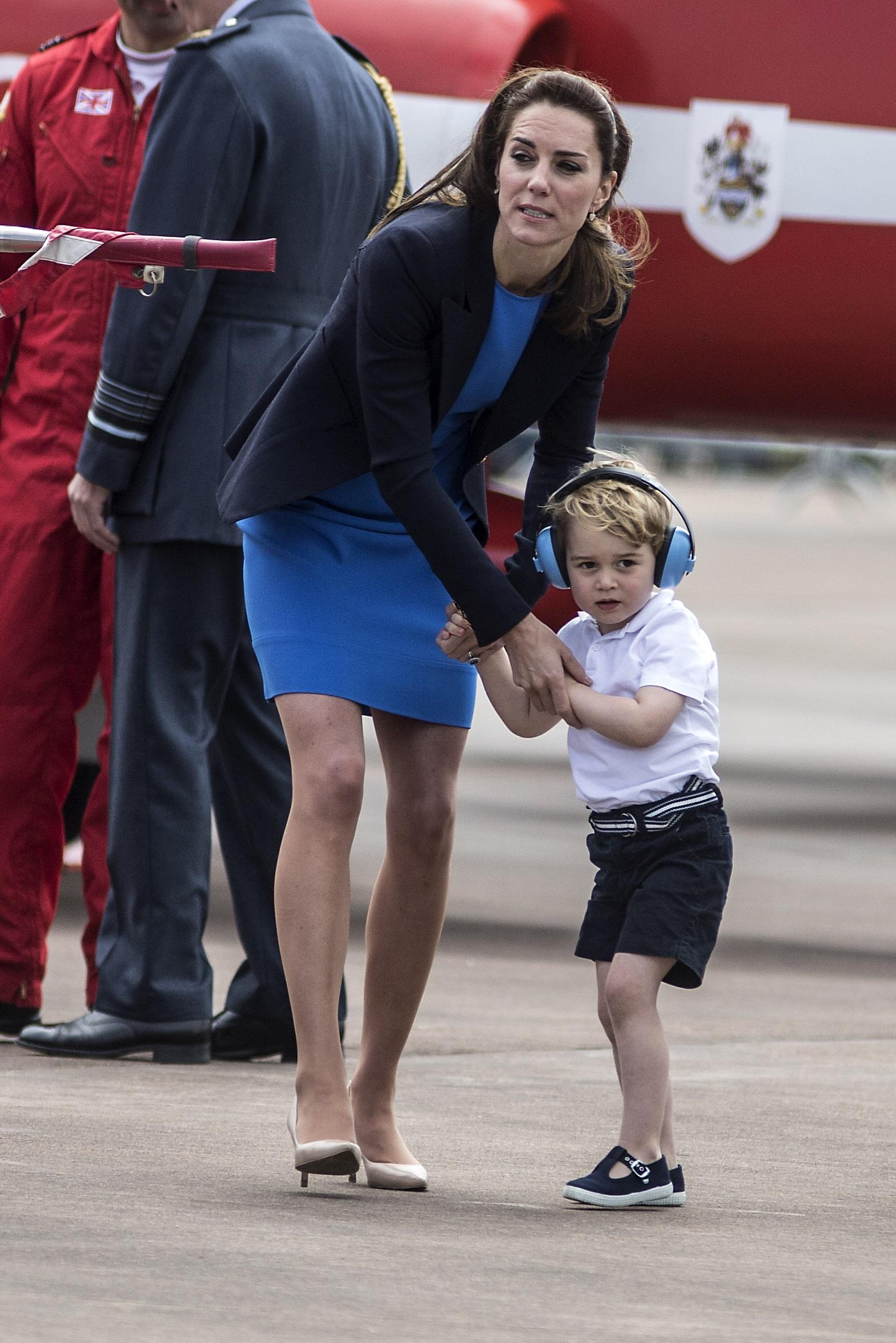 Prince George official royal engagement