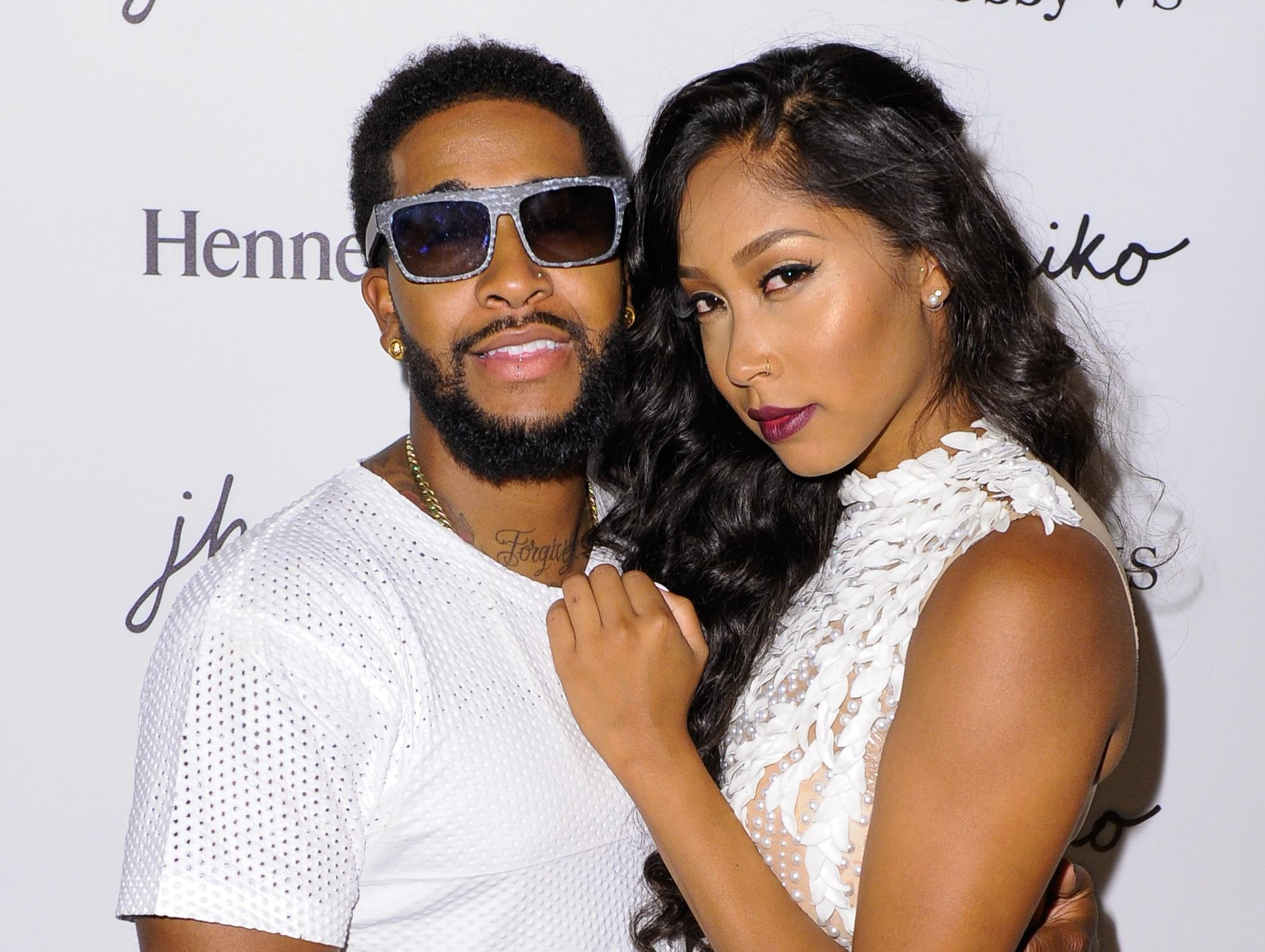 Omarion and Apryl Jones breakup