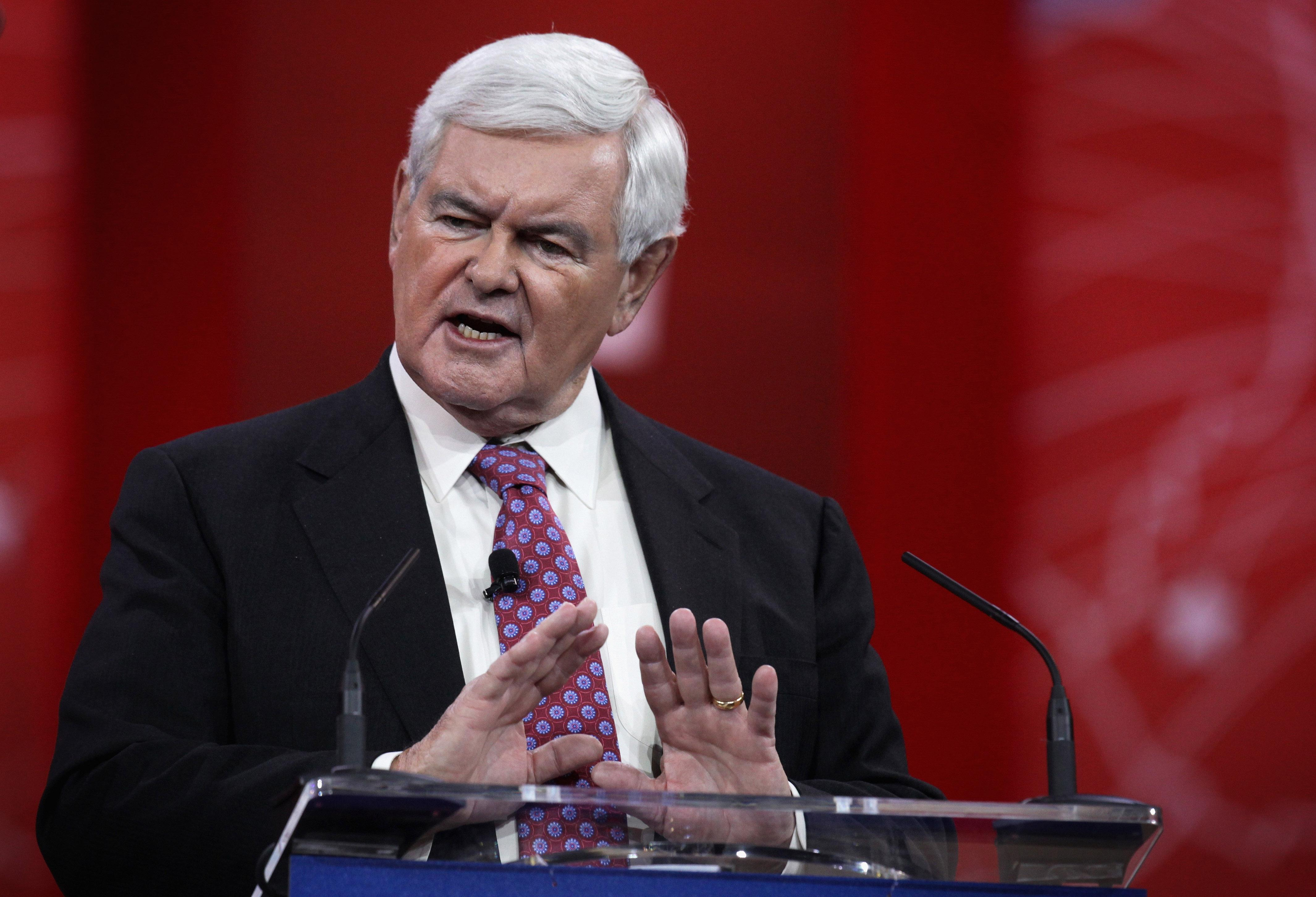 Gingrich: 'No Idea' What Trump Meant By Tweet Appearing To Confirm Probe