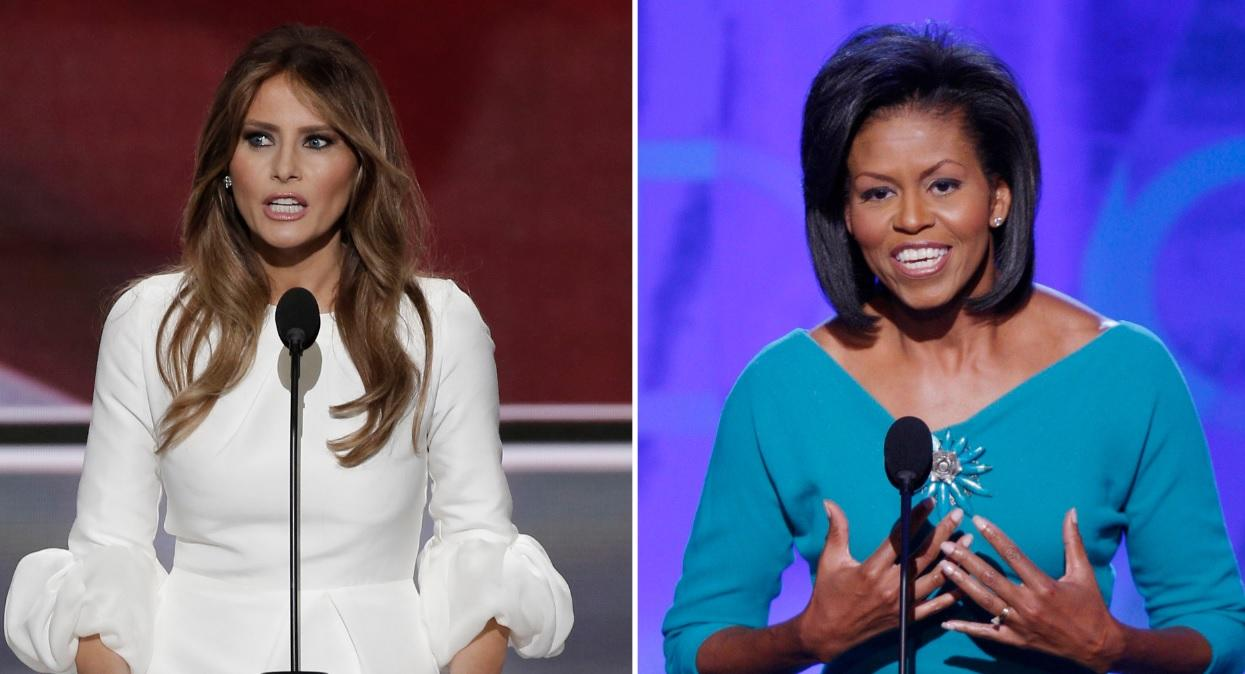 Melania Trump Michelle Obama
