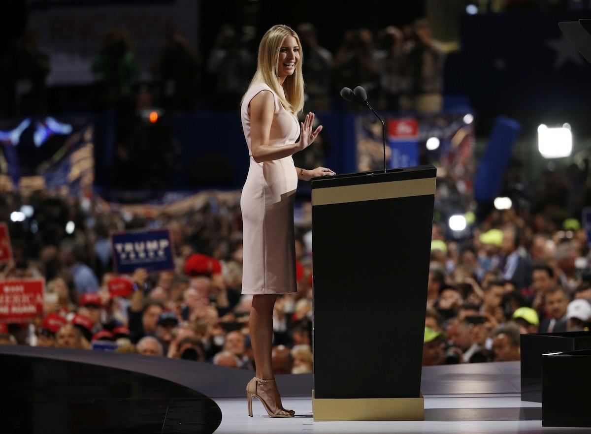 eecdc3336cf Ivanka Trump looking chic at the 2016 R.N.C. Photo  REUTERS Jonathan Ernst