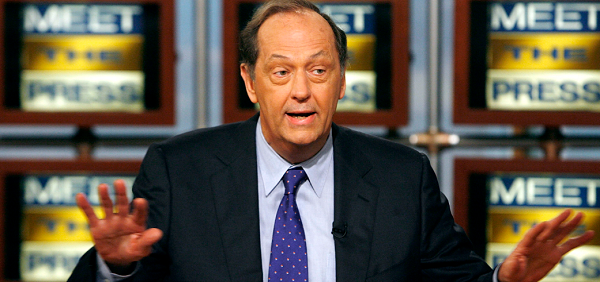 WASHINGTON - MARCH 25: (AFP OUT) Former US Senator and NBA player Bill Bradley speaks during a taping of 'Meet the Press' at the NBC studios March 25, 2007 in Washington, DC.