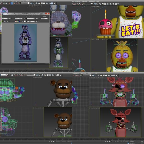 five nights at freddy s creator releases development teasers spark