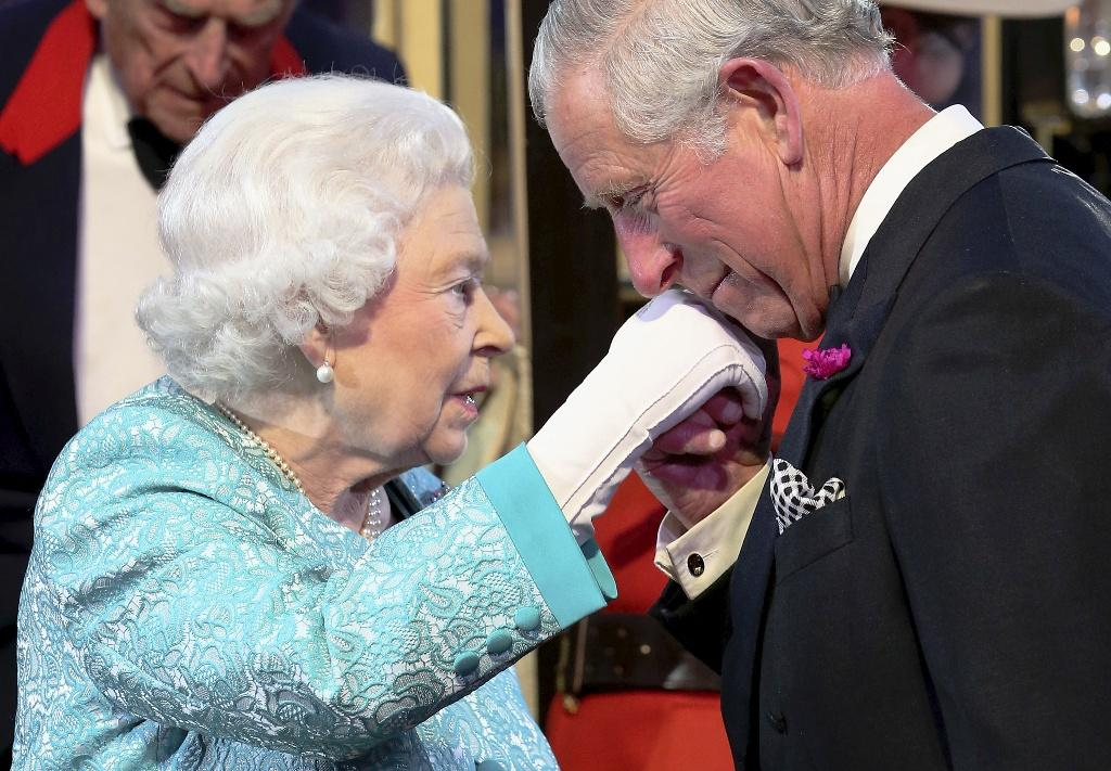 Queen Elizabeth II and Prince Charles