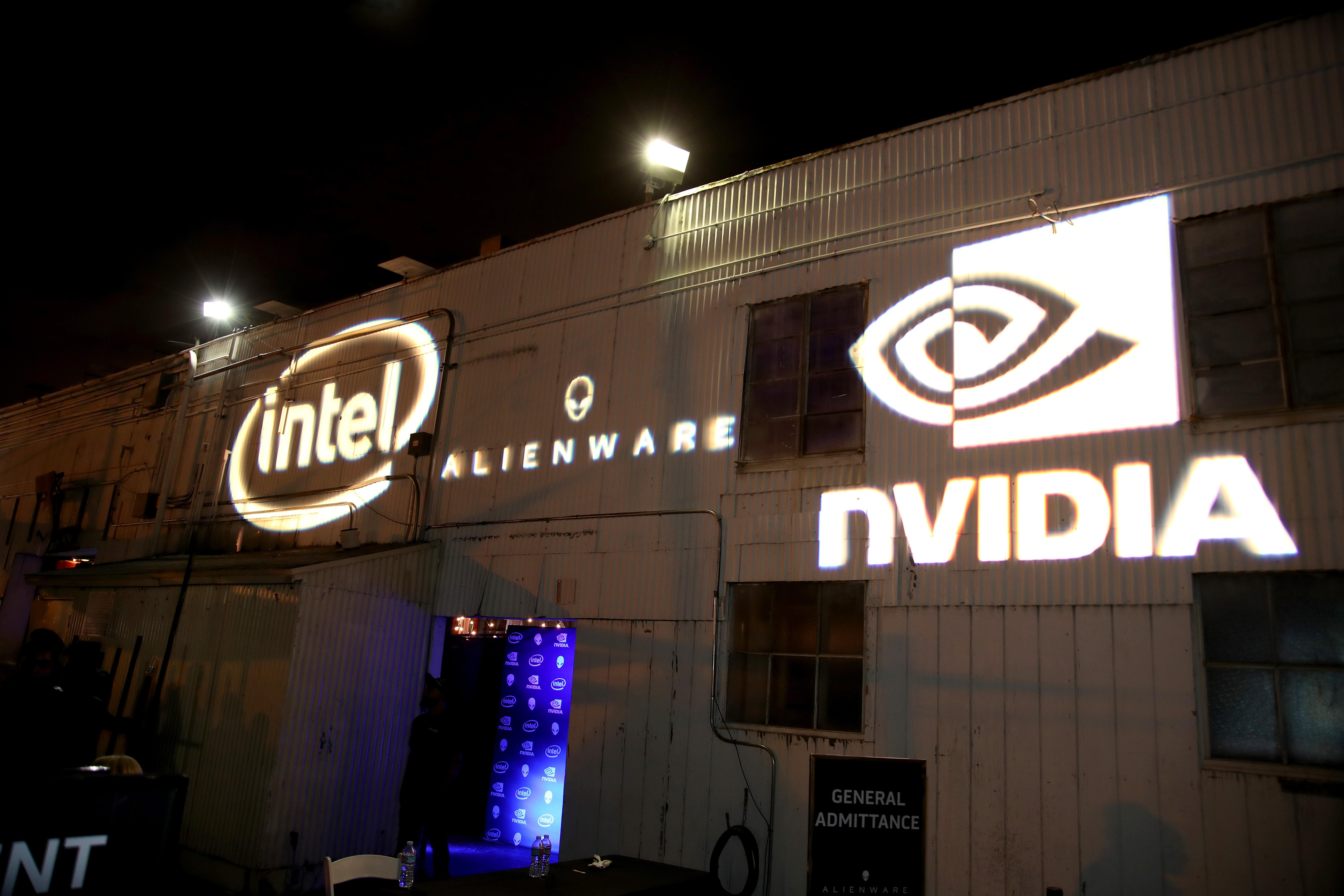 Intel Alienware NVIDIA