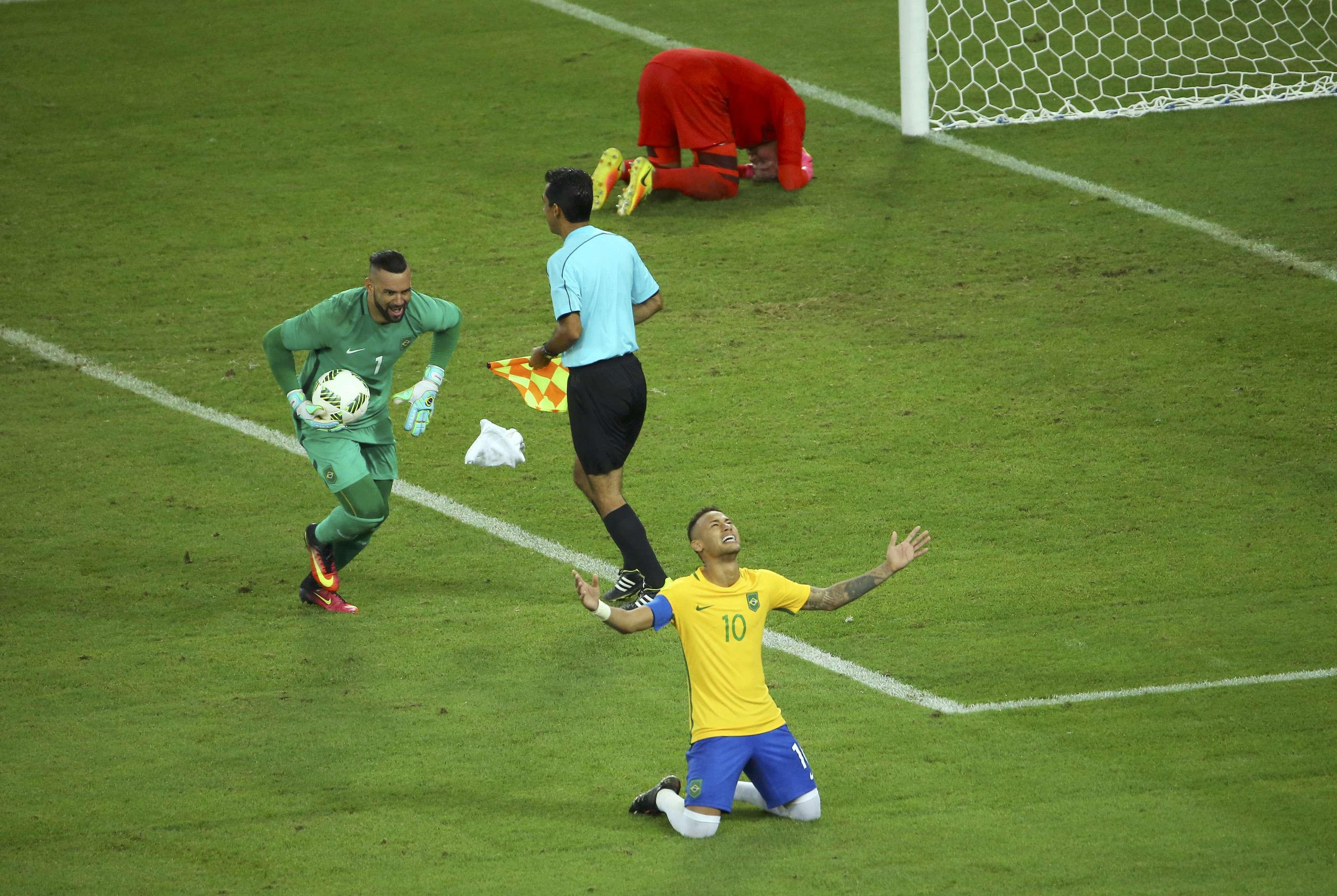 Neymar and Brazil break Olympic curse, win gold in final against Germany