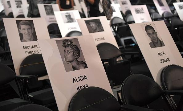 2016 MTV Video Music Awards Seating Chart