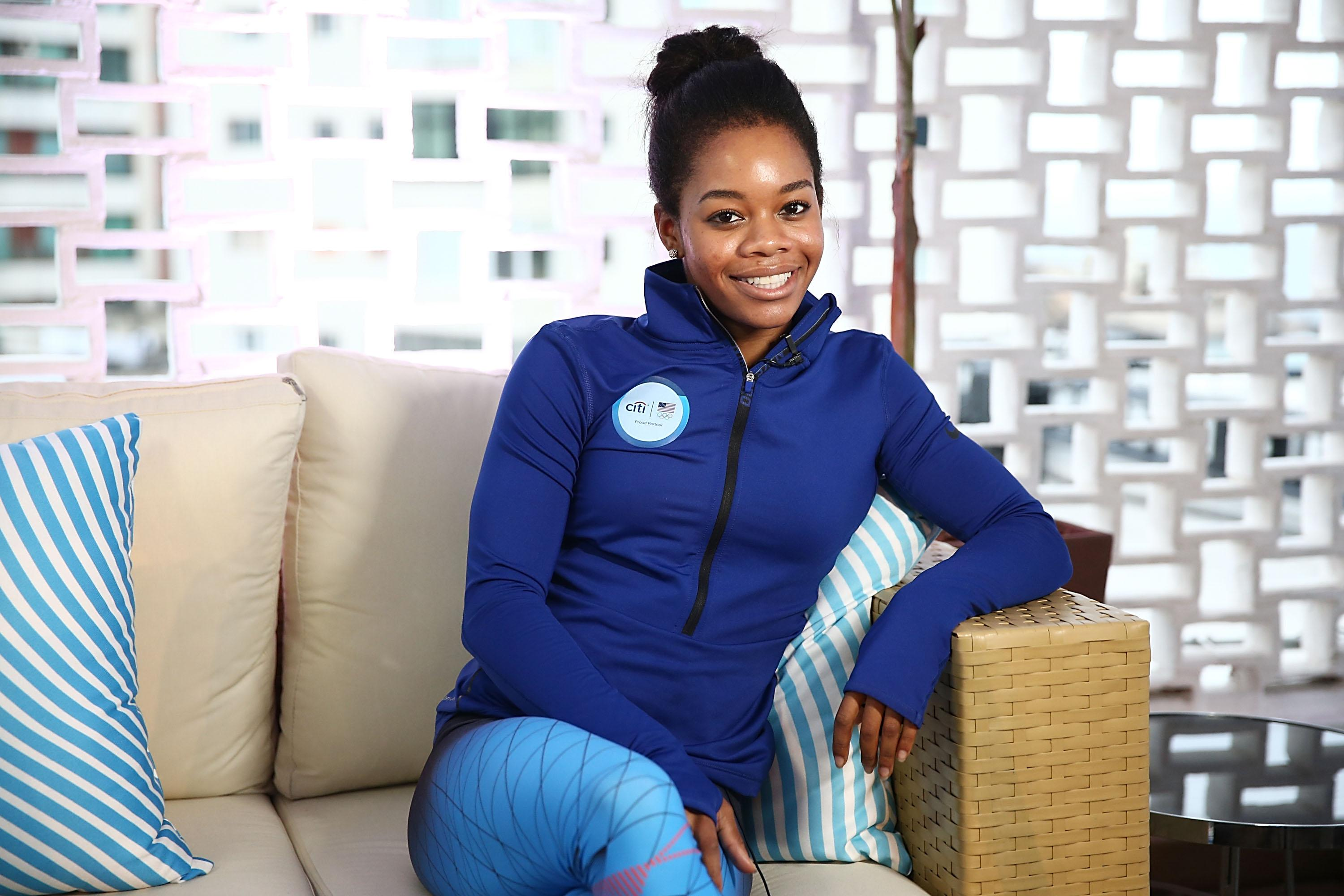 Gabby Douglas misses VMAs, tweets love while recovering