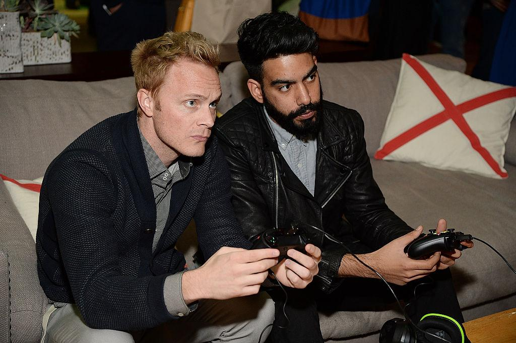 Rahul Kohli and David Anders