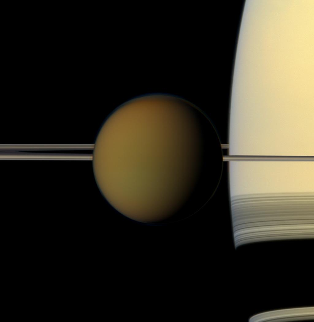 Saturn Moon Titan: NASA Has Explanation For 'Impossible' Cloud Formation