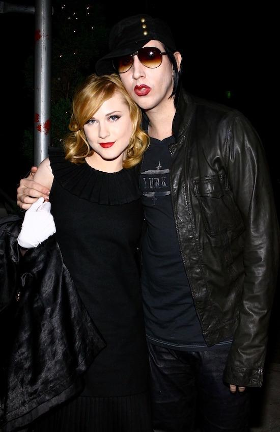 The Odd Couple: Wood Was Engaged To Marilyn Manson