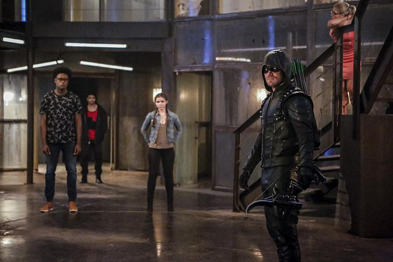 Arrow new vigilantes