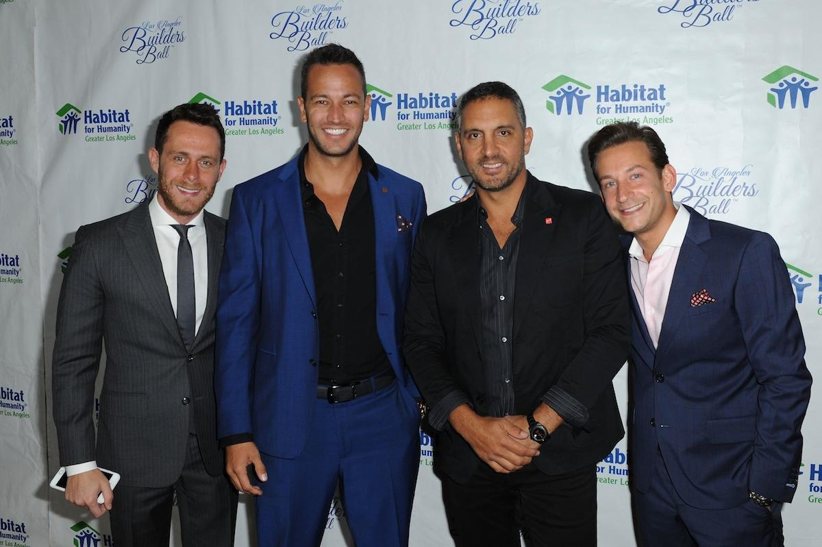 David Parnes, Santiago Arana, Mauricio Umansky and James Harris
