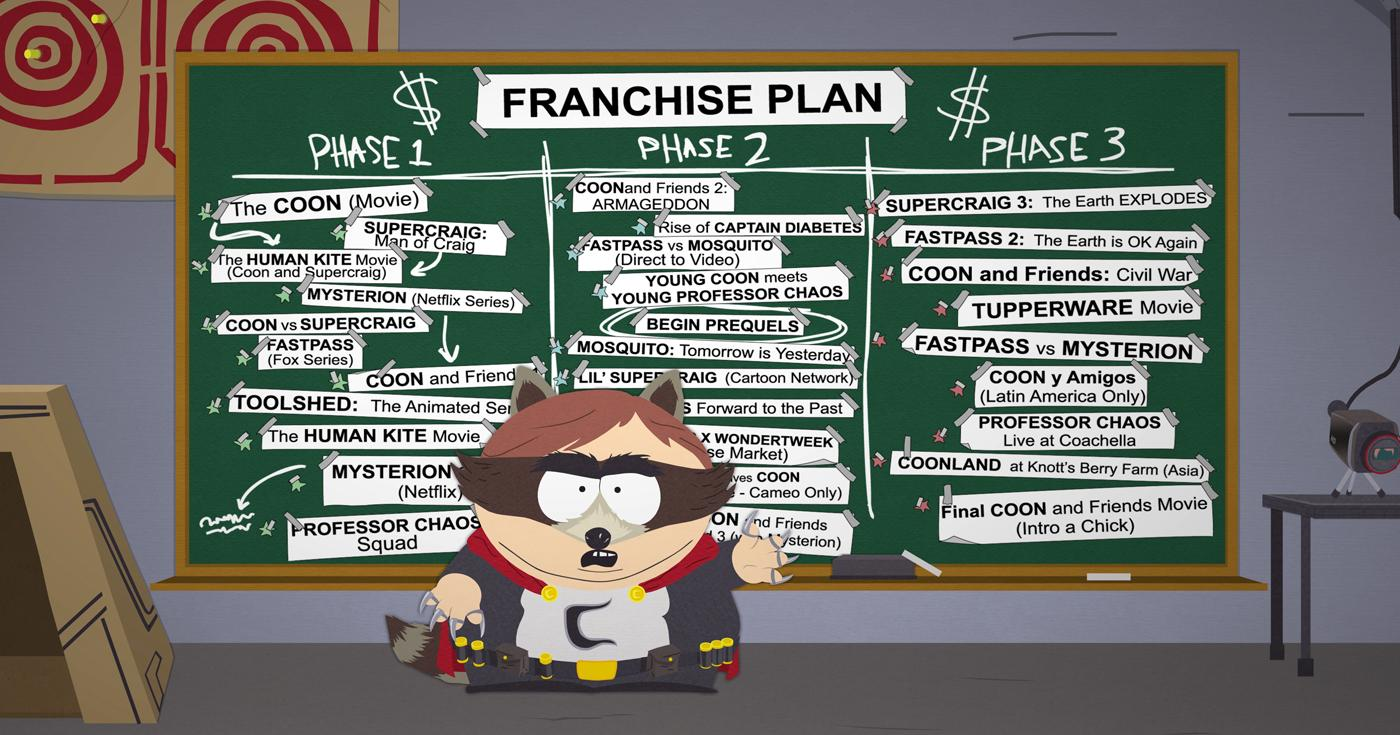 south park the fractured but whole gameplay xbox one ps4 pc