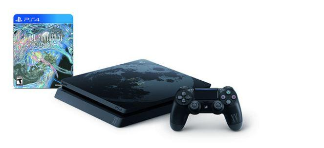 final fantasy xv playstation 4 console