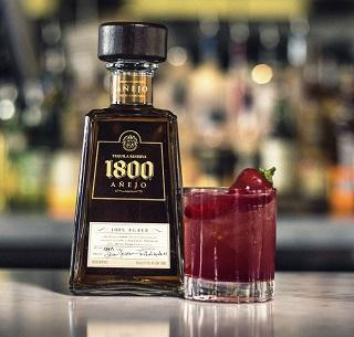 1800 Blood Orange Margarita