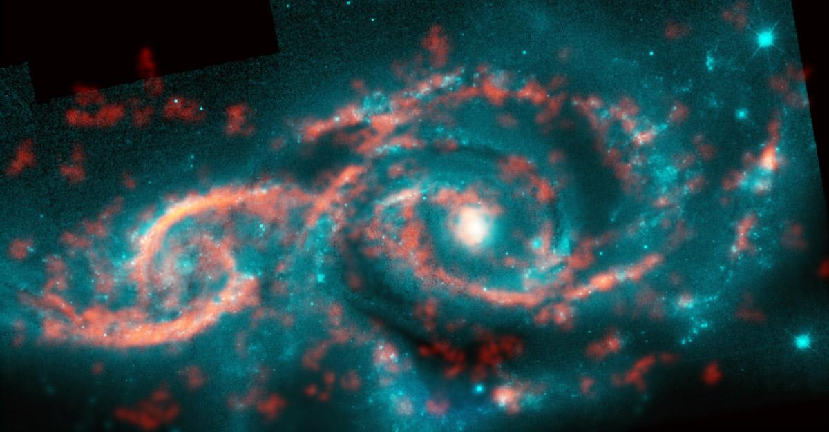 Astronomers Spot Massive 'Eye' Created By Collision Of Two Distant Galaxies
