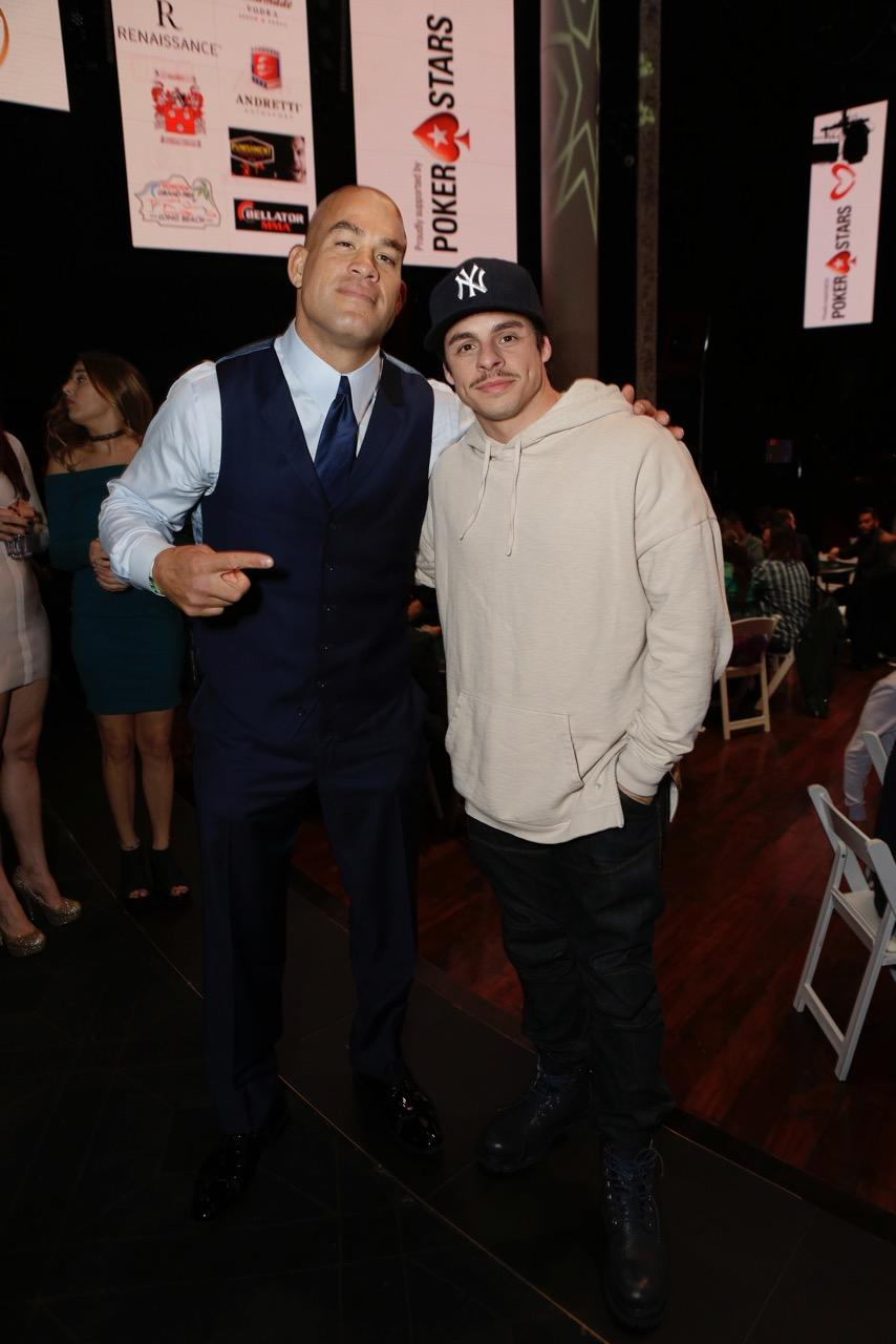 Tito Ortiz and Casper Smart