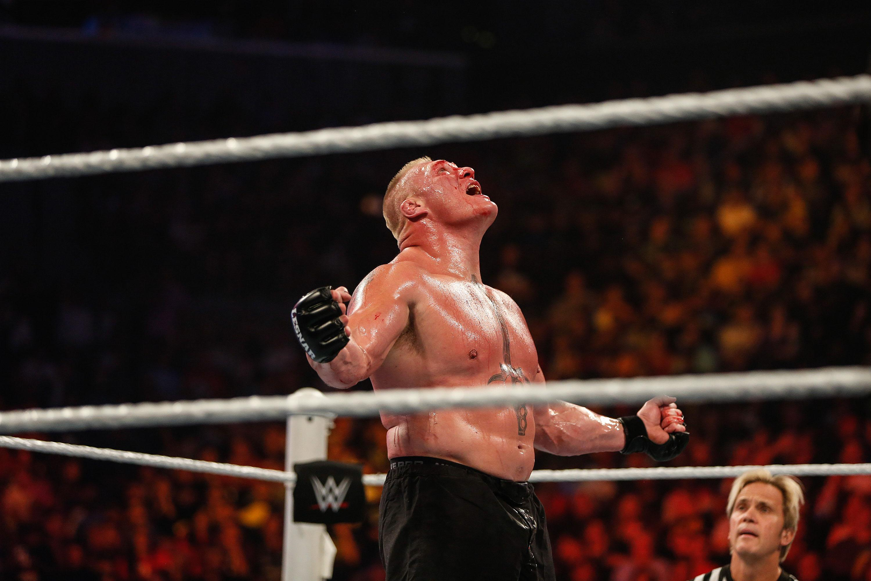 Brock Lesnar Announced For 2017 Royal Rumble Match