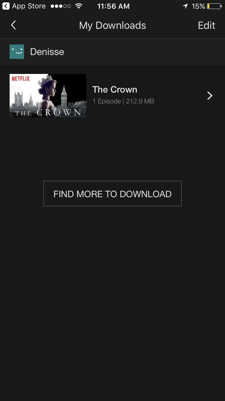 netflix download 5