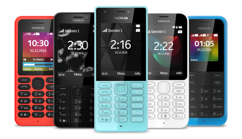 Nokia-branded phones are officially back