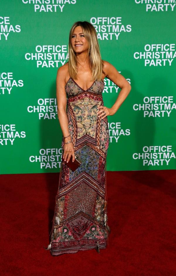 Office Christmas Party\' Premiere Red Carpet: Jennifer Aniston, Katy ...