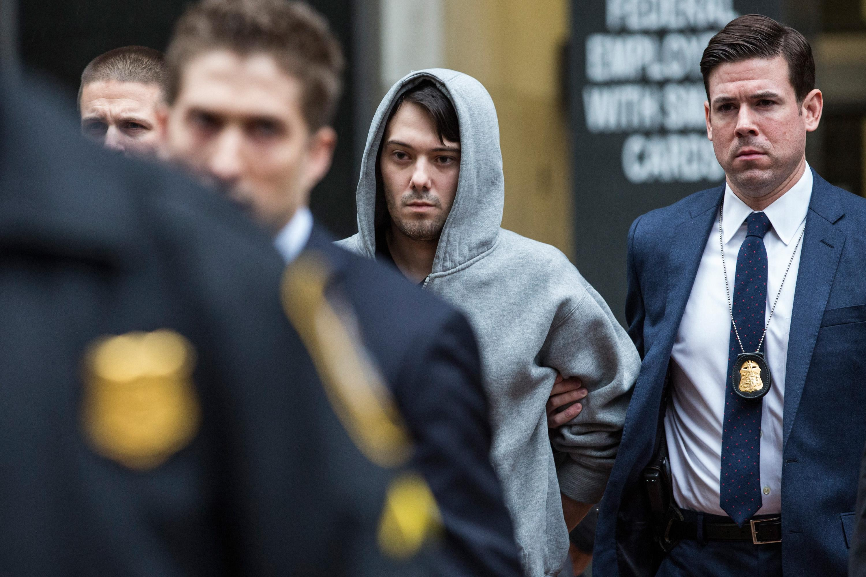 'Pharma bro' Martin Shkreli heads into fraud trial