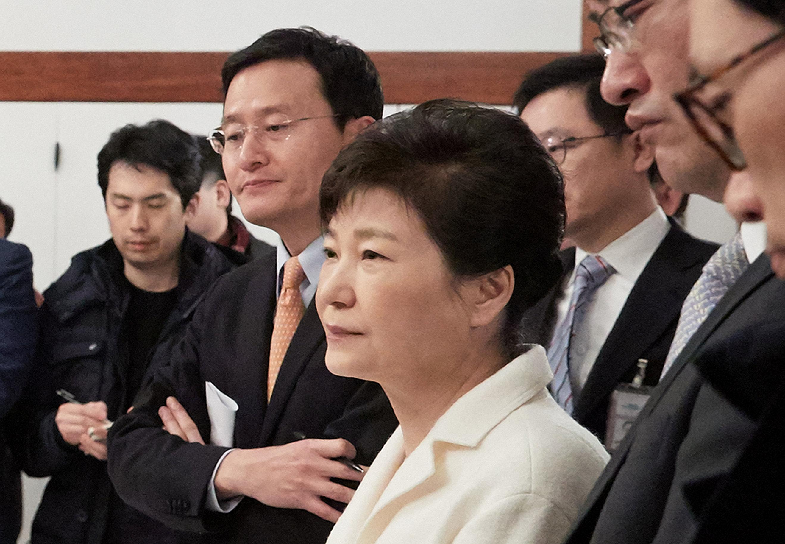 South Korea President Park impeachment trial begins