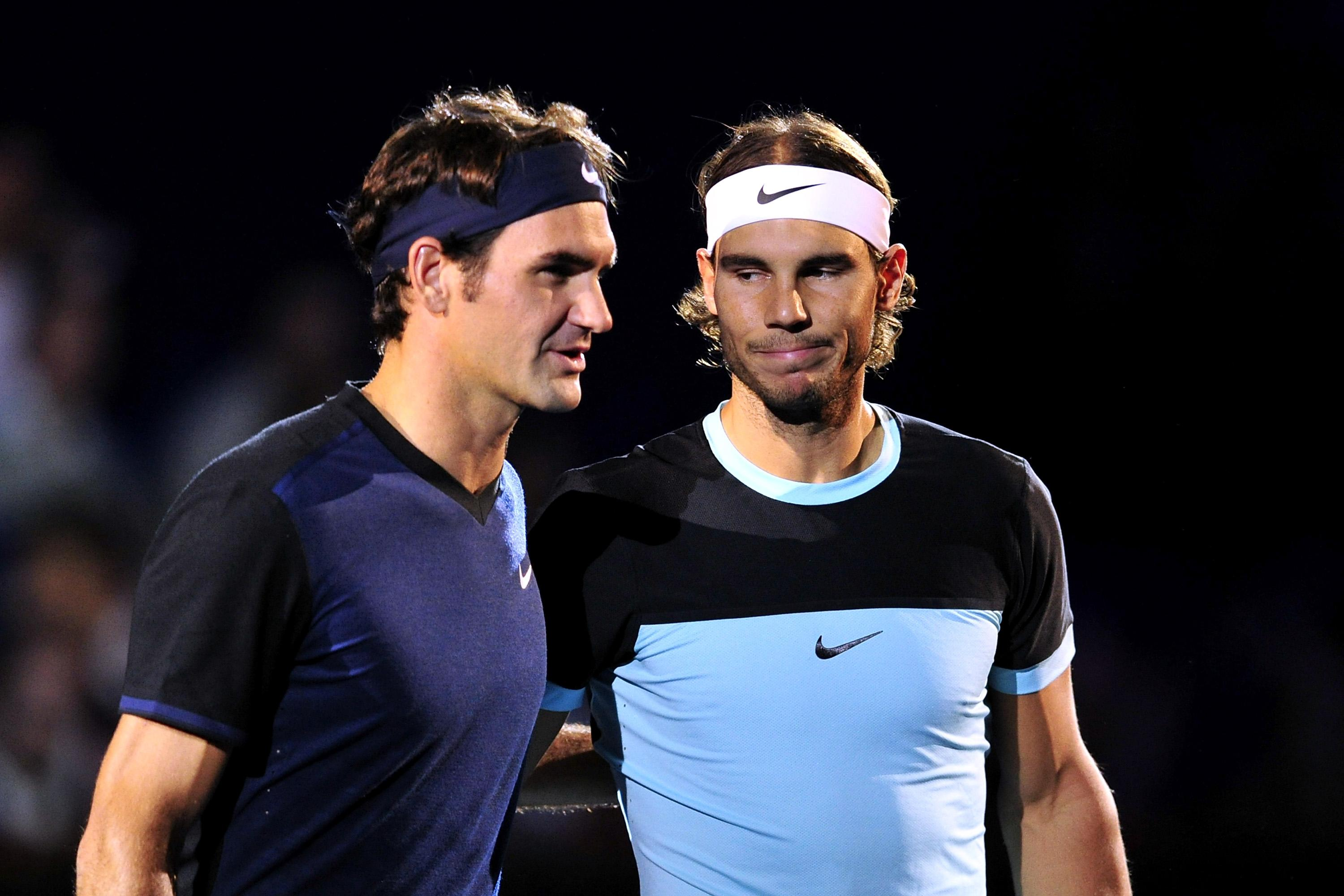 Why Federer would welcome a showdown with Nadal