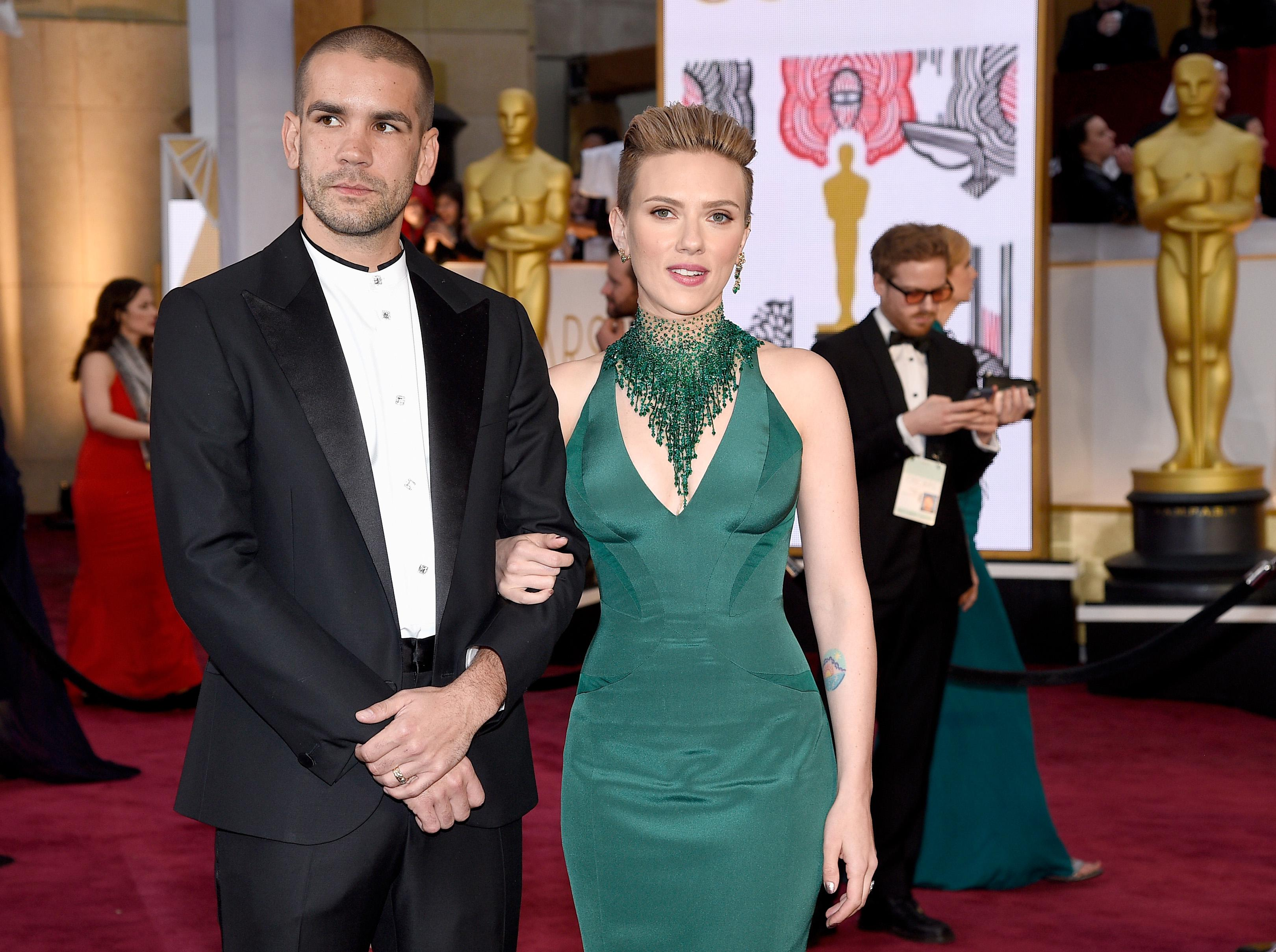 Scarlett Johansson and Romain Dauriac Have Split After Two Years of Marriage