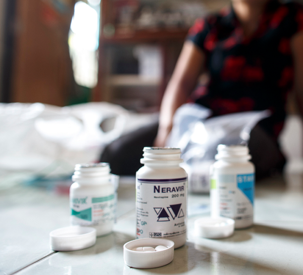Researchers receive $2.5 million in funding to test combined HIV drugs on patients.