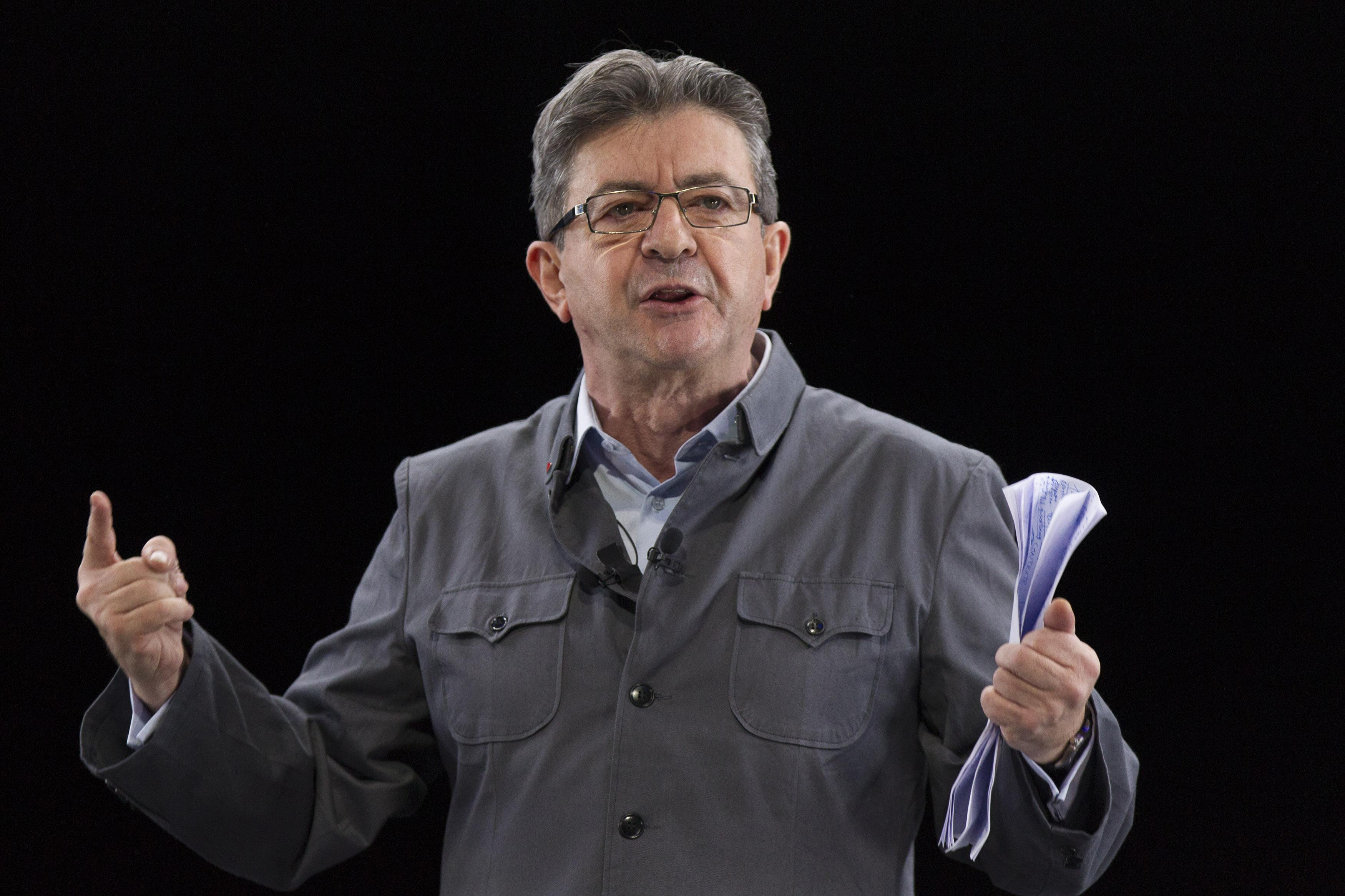 they melenchon president youtubeur